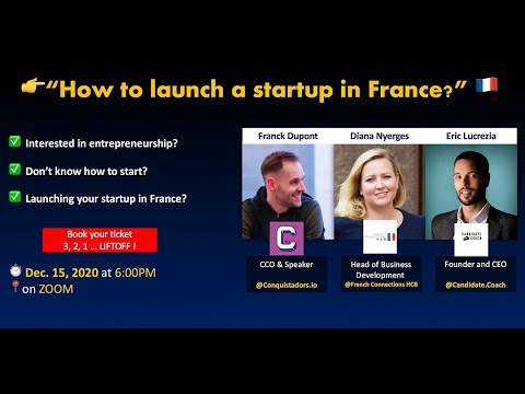 lyteCache.php?origThumbUrl=https%3A%2F%2Fi.ytimg.com%2Fvi%2FhlIlR pT r0%2F0 - How to launch a Startup in France ? A Virtual Conference on Entrepreneurship with Devinci Startup