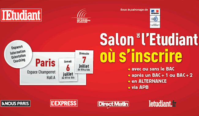 L 39 emlv au salon de l 39 etudiant o s 39 inscrire de paris for Porte de champerret salon de l etudiant