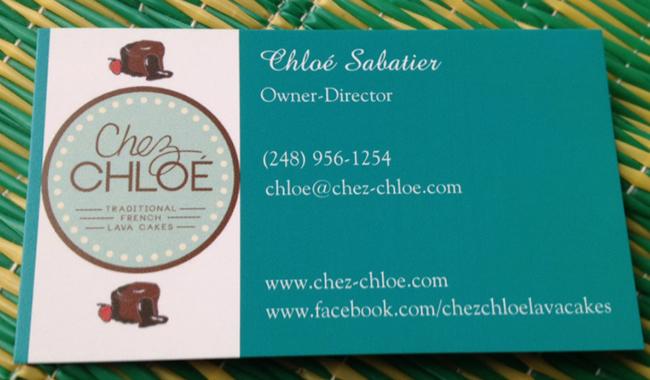 """chez chloe lavacakes 51 - Chloé, promotion 2013 """"J'ai créé mon entreprise de vente de fondants au chocolat maison à Détroit, aux Etats-Unis"""""""