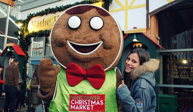 vancouver christmas market - Etudier au Canada : témoignage de Laura, à l'université British Columbia (BCIT) de Vancouver