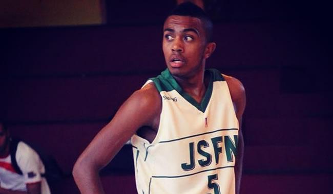warren racine1 - Warren Racine, espoir du basket à la JSF Nanterre et étudiant en management à l'EMLV