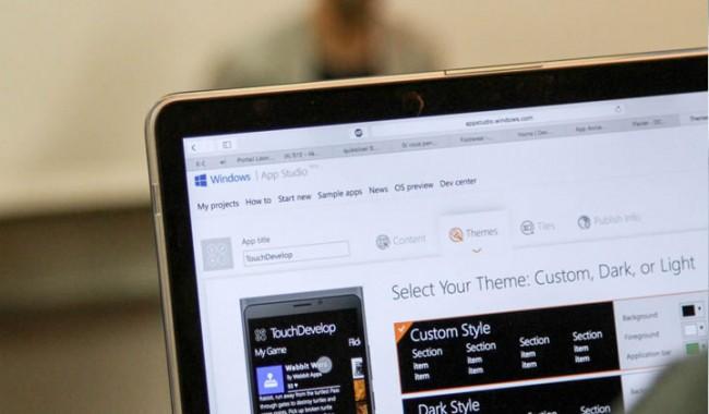 Hackathon Microsoft Windows App Studio, de futurs managers