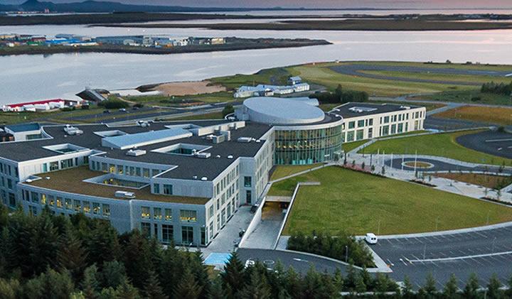 Le campus de l'université de Reykjavic, en Islande