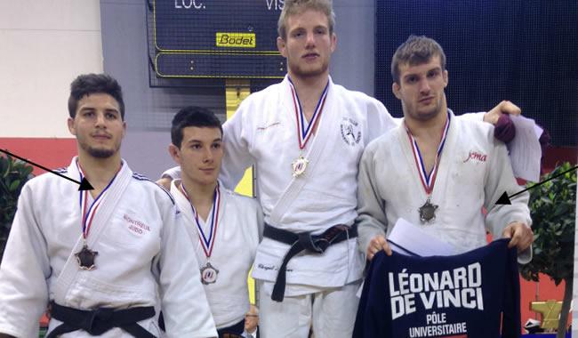 Sammy Tamellin et Arnaud Touroux