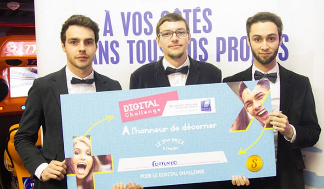 Trois Etudiants Emlv Sur Le Podium Du Digital Challenge Banque