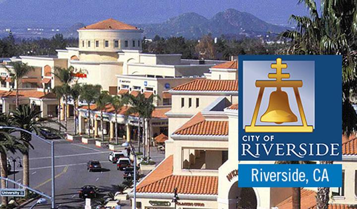 La ville de Riverside, en Californie