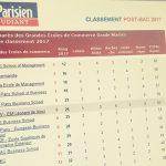 eba63f71d93ad4 Classement des grandes écoles de commerce 2017 Le Parisien   l EMLV 6e école  post-bac, n°1 sur la recherche académique