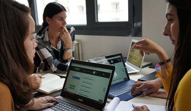Praxar 3 650x380 - Un Business Game par Pearson France pour les internationaux du MBA Digital Marketing Strategy