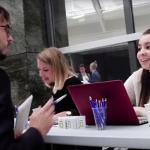 Le Forum Entreprises 2017 de l'EMLV a réuni plus de cent entreprises sur le campus du Pôle Léonard de Vinic