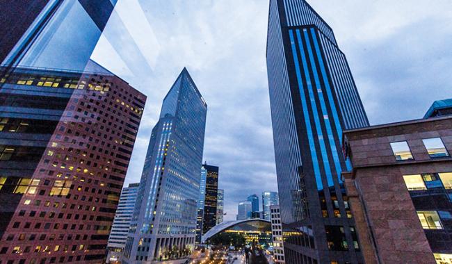 La Défense, designated 2d business district in Europe