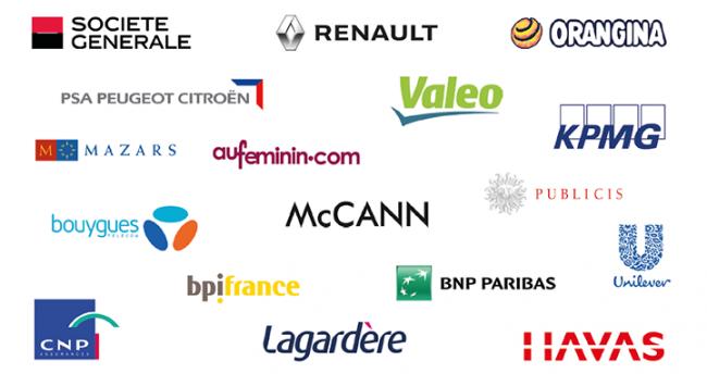 Les entreprises de nos diplômés 2016