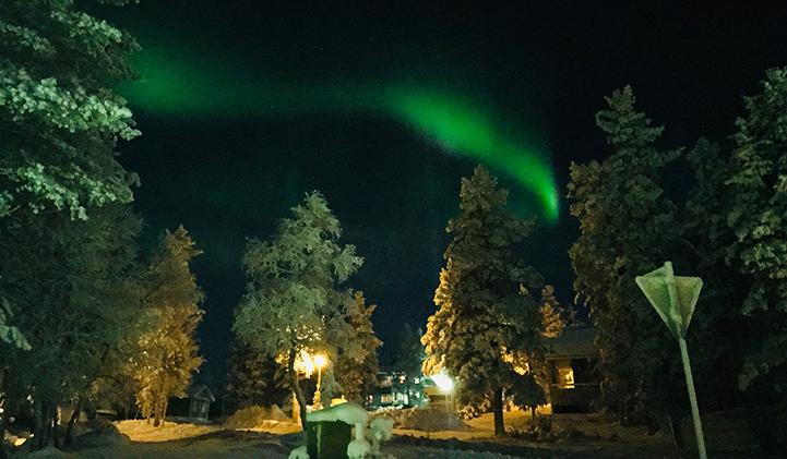 Kahina, en échange à LAMK en Finlande