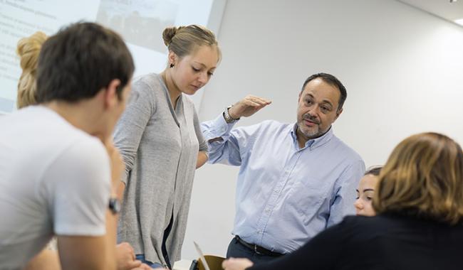 Philippe Spach, enseignant chercheur à l'EMLV