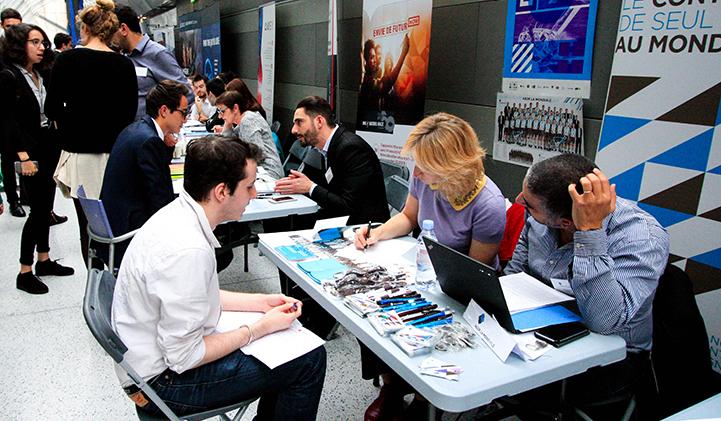 Forum Entreprises2017 - Palmarès de satisfaction des diplômés d'écoles de commerce EducPros : l'EMLV se place 3e du classement post-bac