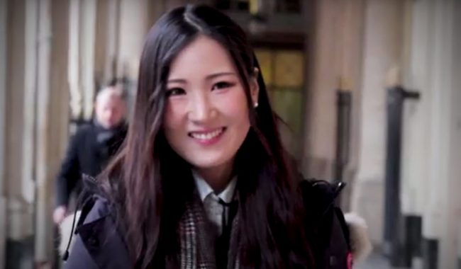 Jennifer, from South Korea, is an international Master Programme student at EMLV, business school in Paris