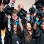 Graduation night for the EMLV Class of 2017 Business School in Paris