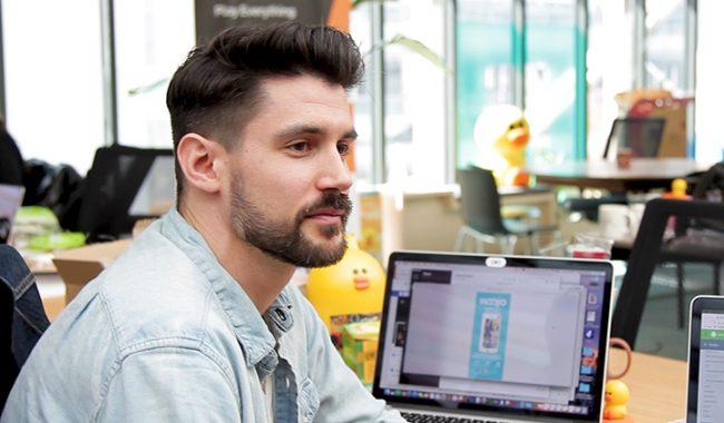 Joey diplome du MBA Digital marketing strategy de l EMLV et co fondateur d'une startup