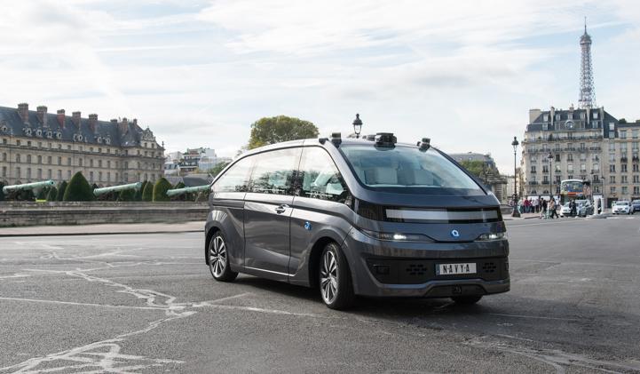 autonomous cab navya startup