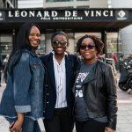 three EMLV international students