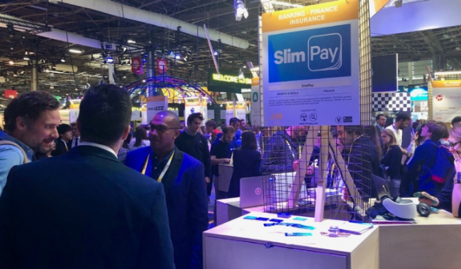 payment services booth in vivatech 2019