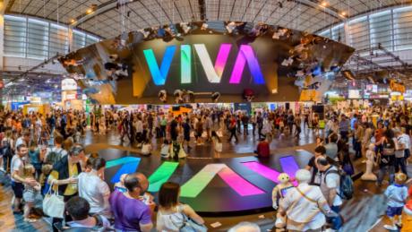 vivatech 2019 upper view shot