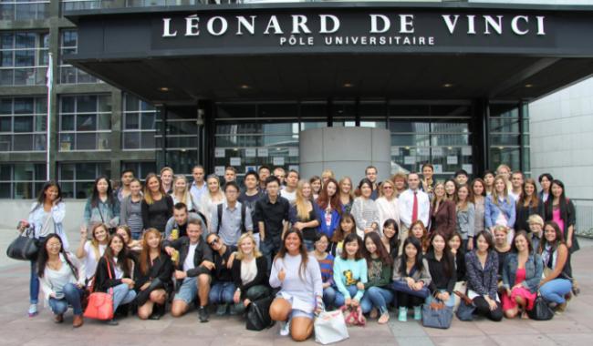 group photo international students