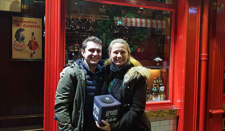 "Julie et Gael 1 - Dublin: The ""Place to Be"" for EMLV Students"