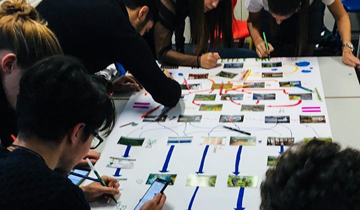 fresque biodiversité - Le numérique au service de la biodiversité, une semaine transversale pour les étudiants de première année