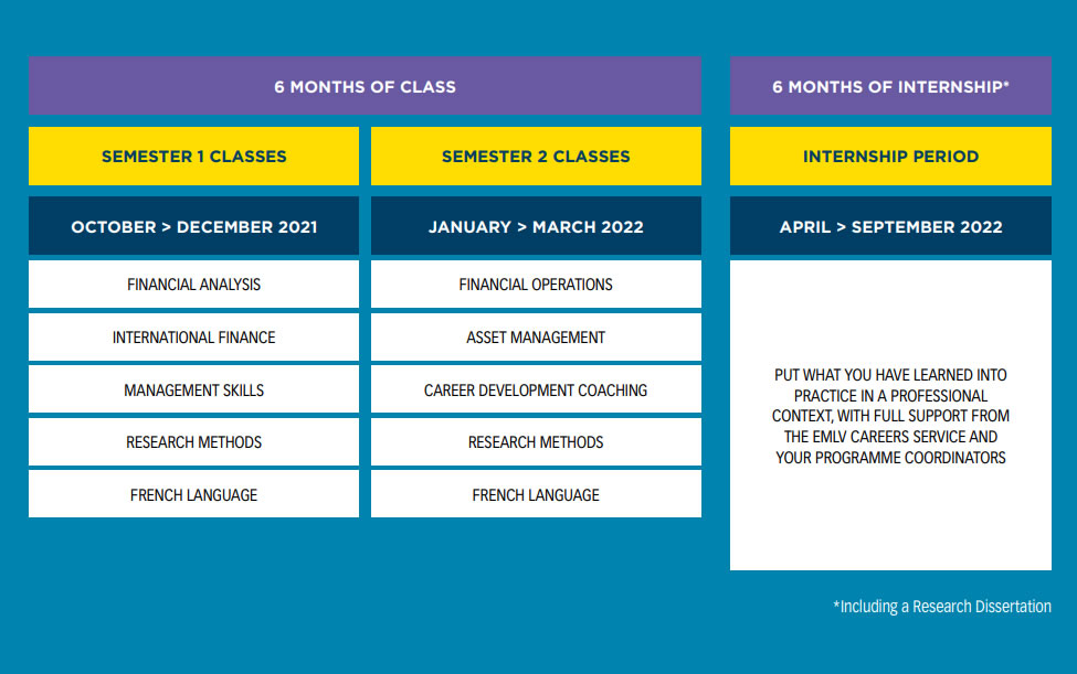 msc if course structure - MSc International Finance