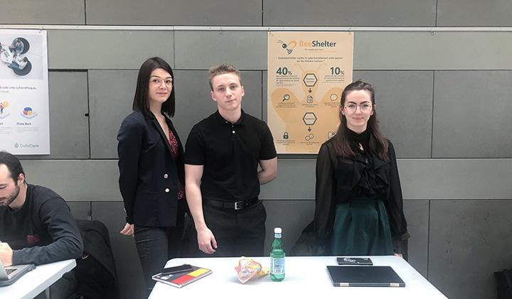 BeeShelter projet - Hackathon Hyperconnexion numérique et hyper-transparence des données, une semaine transversale soft skills au Pôle Léonard de Vinci