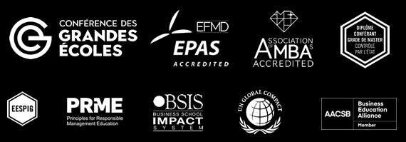 accreditations EMLV
