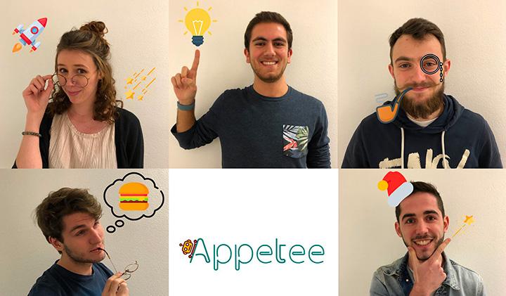 Appetee team  - Les étudiants-entrepreneurs, de plus en plus concernés par le monde de demain