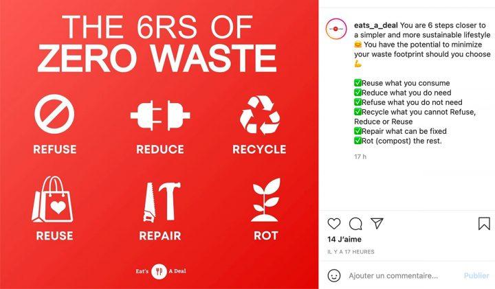 "Application anti gaspillage zero waste 720x421 - ""Appli"" anti-gaspillage alimentaire : l'initiative d'un ancien EMLV"