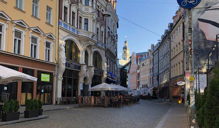La vieille ville de Riga 720x421 - Laurine, promo 2023, en échange académique à Riga, en Lettonie