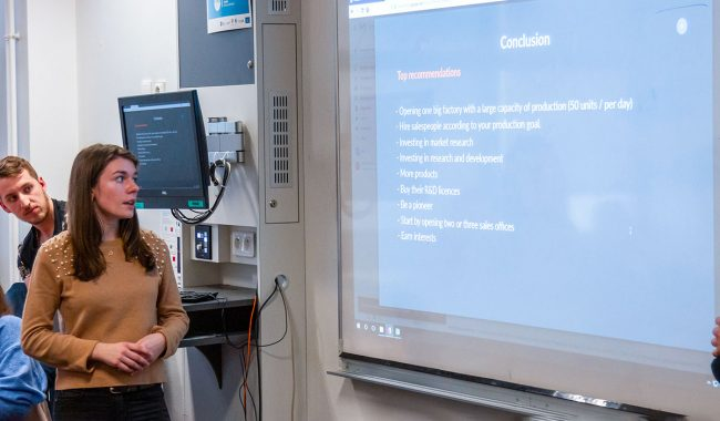 The Capstone project at EMLV allows students to develop their consulting and business skills