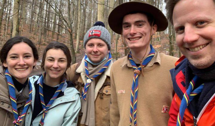 Chefs maitrise activite chefs groupe 720x421 - Vladimir, promo 2024, une mission solidaire avec les Scouts Unitaires de France